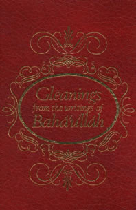 Gleanings of the Writings of Baha'u'llah book cover